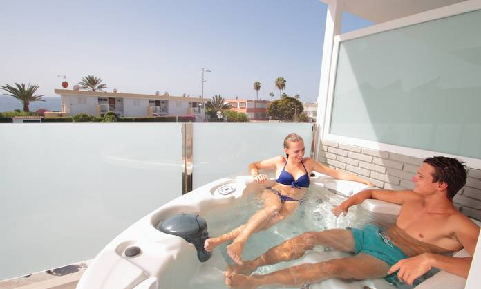 JUNIOR SUITE WITH JACUZZI HL Suite Nardos Hotel Gran Canaria